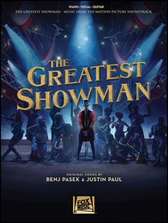 The Greatest Showman vocal sheet music cover