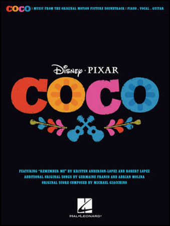 Coco vocal sheet music cover