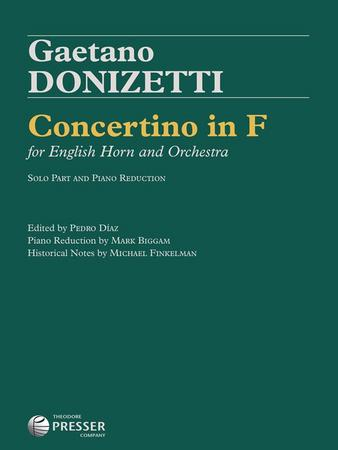 Concertino in F for English Horn and Orchestra