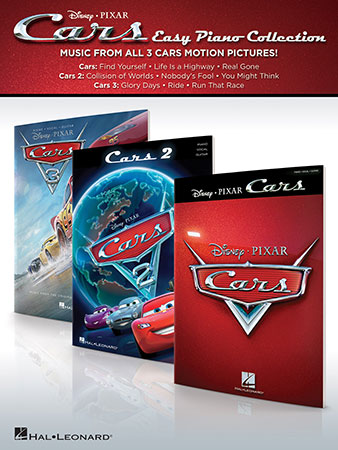 Cars vocal sheet music cover