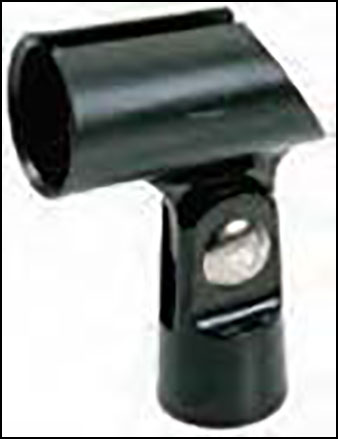 Rubber Tapered Mic Holder