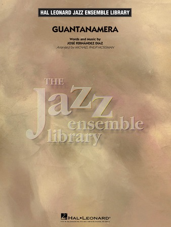 Guantanamera jazz sheet music cover