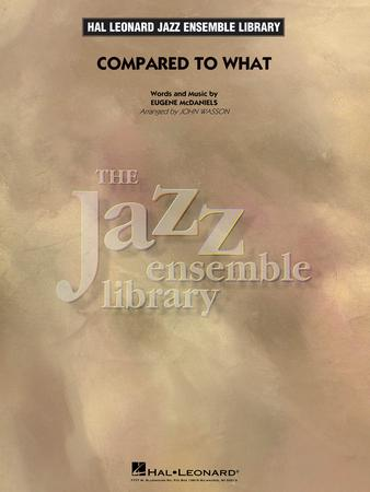 Compared to What jazz sheet music cover