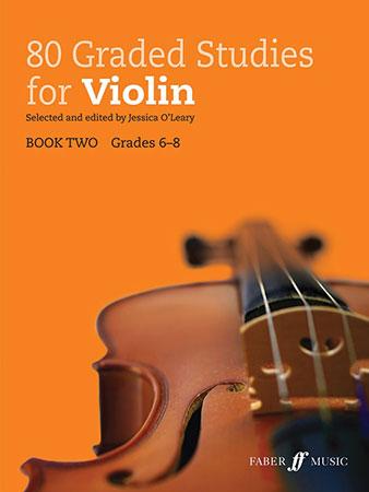 80 Graded Studies for Violin #2
