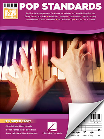 Pop Standards Easy Piano By Various Compo Jw Pepper Sheet Music