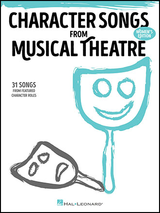 Character Songs from Musical Theatre library edition cover