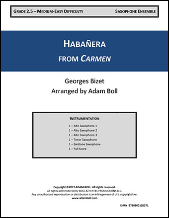 Habanera from Carmen