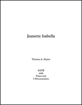 Jeanette, Isabella