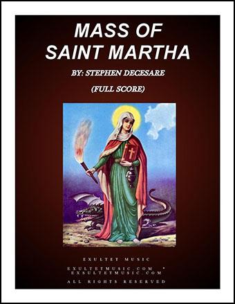 Mass Of Saint Martha