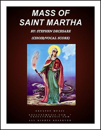 Mass Of Saint Martha