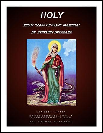 Holy from Mass of Saint Martha