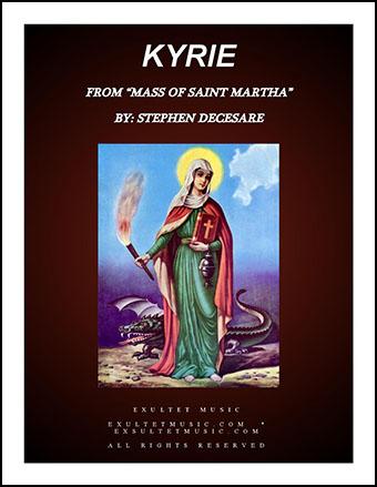 Kyrie from Mass of Saint Martha