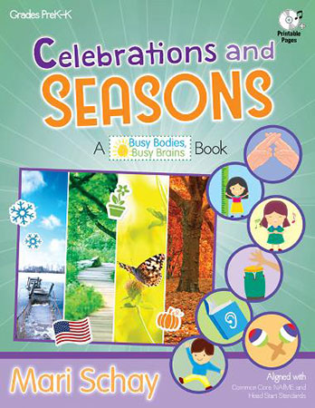 Celebrations and Seasons classroom sheet music cover