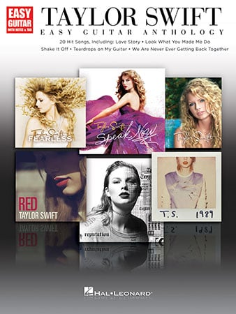 Taylor Swift Easy Guitar Anthology