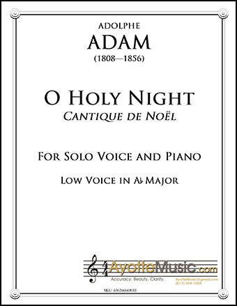 O Holy Night/Cantique de Noel