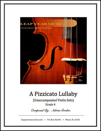 A Pizzicato Lullaby