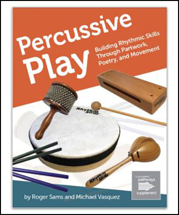Percussive Play classroom sheet music cover
