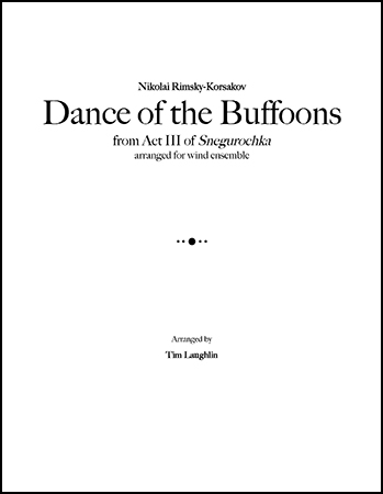 Dance of the Buffoons