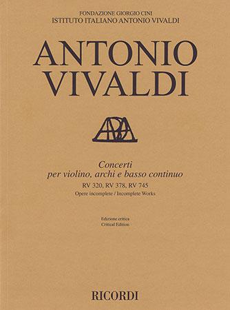 Concerti, RV 320, 378 & 745