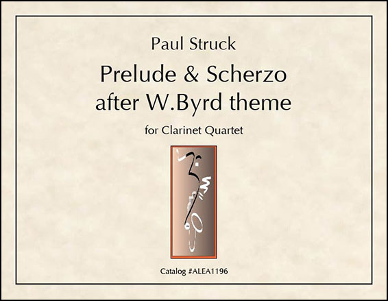 Prelude And Scherzo after W.Byrd theme
