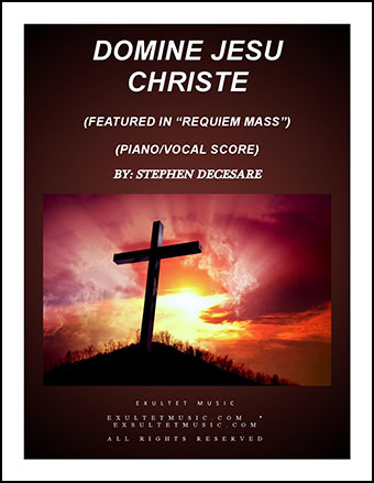 Domine Jesu Christe from