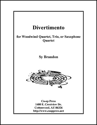 Divertimento for Woodwind Quartet