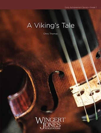 A Viking's Tale orchestra sheet music cover