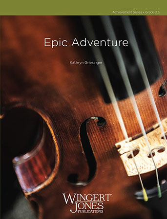 Epic Adventure orchestra sheet music cover