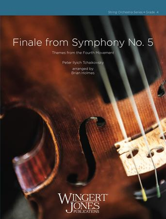 Finale from Symphony No. 5 orchestra sheet music cover