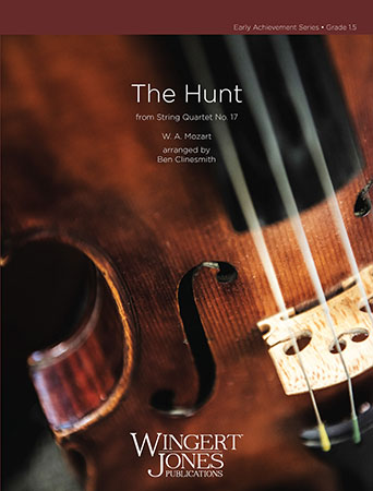 The Hunt orchestra sheet music cover