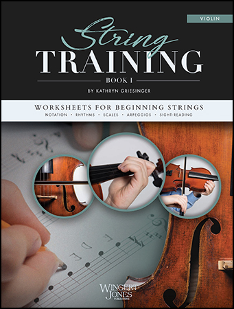 String Training choral sheet music cover