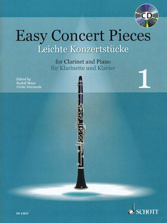Easy Concert Pieces woodwind sheet music cover