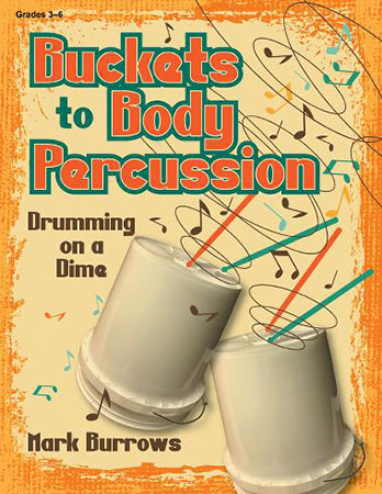 Buckets to Body Percussion classroom sheet music cover