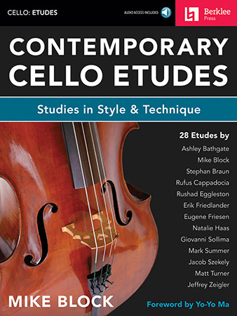 Contemporary Cello Etudes string sheet music cover