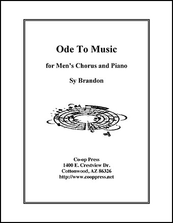 Ode To Music for Men's Chorus