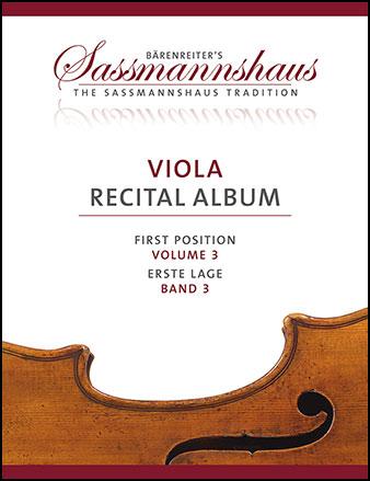 Viola Recital Album, Vol. 3