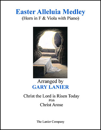 Easter Alleluia Medley (Horn in F & Viola with Piano)