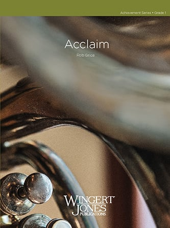 Acclaim midwest sheet music cover