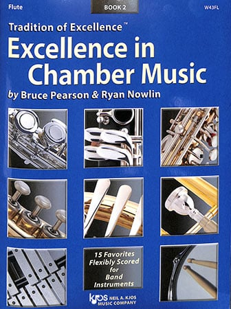 Excellence in Chamber Music, Book 2 brass sheet music cover
