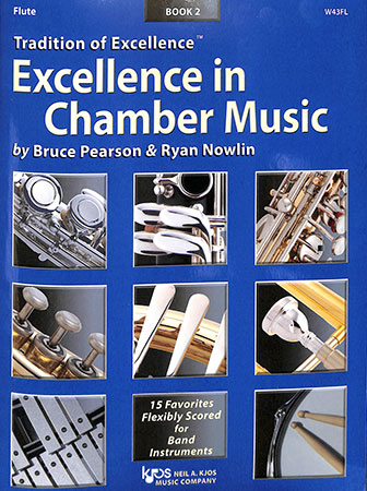 w43fl excellence in chamber music book 2 flute
