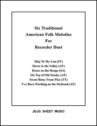 Six American Melodies for Recorder Duet