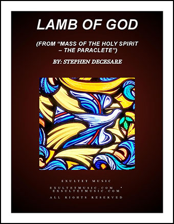 Lamb Of God (from Mass of the Holy Spirit - the Paraclete)