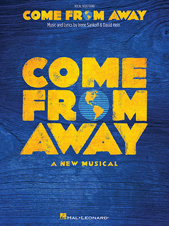 Come from Away vocal sheet music cover