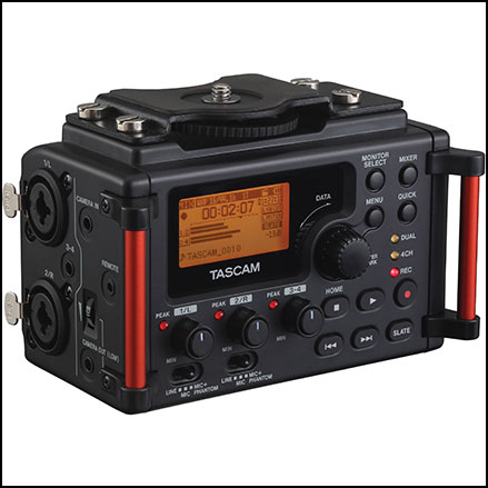 Tascam DR-60DmkII 4-Channel Portable Audio Recorder for DSLR Filmmakers