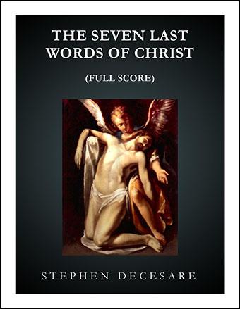 The Seven Last Words of Christ (Full Score)