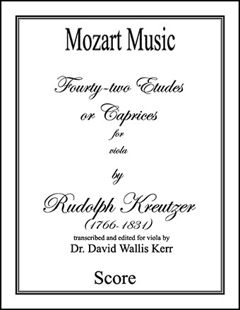 Forty-Two Etudes or Caprices