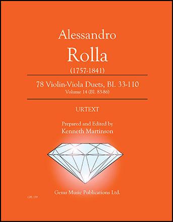 78 Violin-Viola Duets BI. 33-110