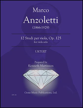 12 Studi per Viola, Op. 125