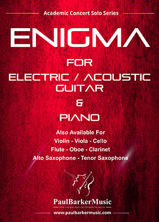 Enigma (Electric Guitar & Piano)