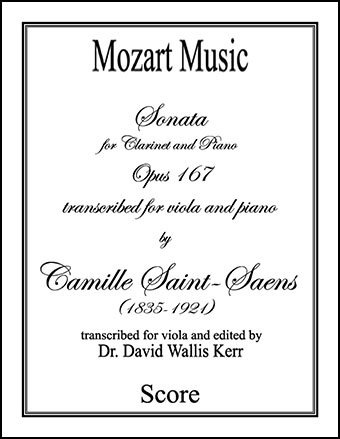 Sonata for Clarinet and Piano, Opus 167